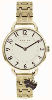 Radley Womens Southwark Park Watch Gold Tone Bracelet RY4298