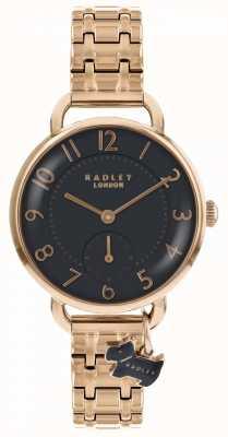 Radley Womens Southwark Park Watch Rose Gold Tone Bracelet RY4302