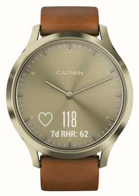 Garmin Vivomove HR (Small/Medium) Premium Activity Tracker Gold 010-01850-05