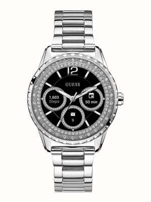Guess Connect Android Wear Digital Stainless Steel C1003L3