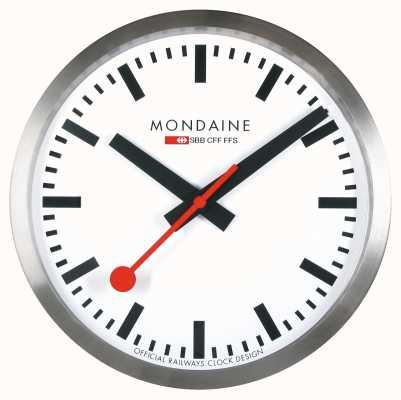 Mondaine Stop2Go Smart Wall Clock White Dial MSM.25S10