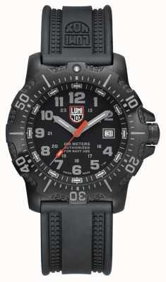 Luminox Mens 4200 Series Black Grey Dial Black PU Strap XS.4221NV