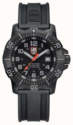 Luminox Men's 4200 Series Black Grey Dial Black PU Strap XS.4221.NV.L