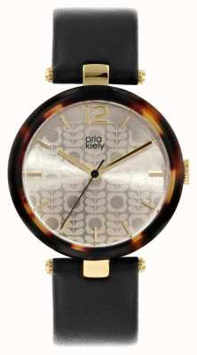 Orla Kiely Maxime Flower Stem Leather Strap OK2216