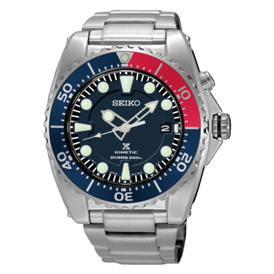 Seiko Prospex Kinetic 200m Divers Date Display SKA759P1