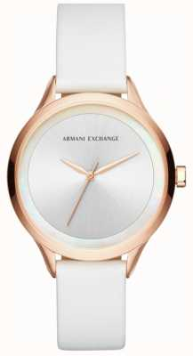 Armani Exchange Womens Harper Leather Strap AX5604