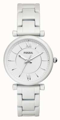 Fossil Womens Carlie Stainless Steel Strap ES4401