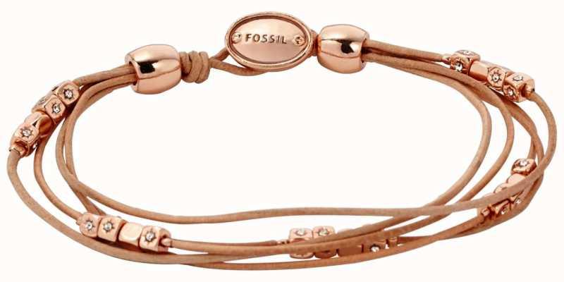 Fossil Womens Fashion Leather Jewellery JA5799791
