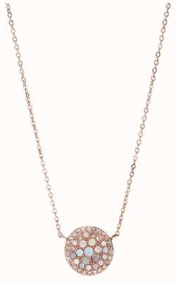 Fossil Womens Vintage Glitz Stainless Steel Jewellery JF01740791