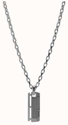 Fossil Mens Mens Dress Stainless Steel Necklace JF84466040