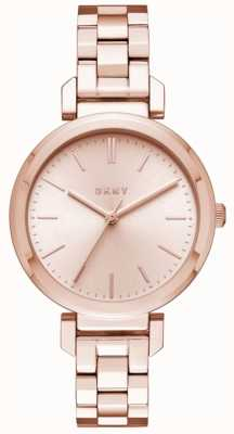DKNY Womens Ellington Stainless Steel Strap NY2584