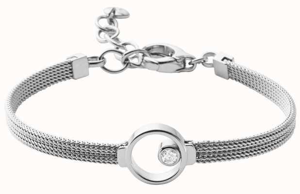 Skagen Womens Elin Stainless Steel Mesh Jewellery SKJ0834040
