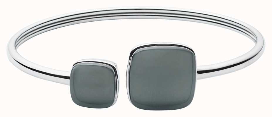 Skagen Womens Sea Glass Stainless Steel Bangle SKJ0870040