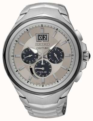 Seiko Men's Coutura Chronograph Date Display Stainless Steel SSC627P9