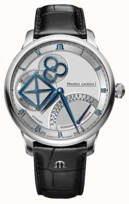 Maurice Lacroix Masterpiece Square Wheel Retrograde Automatic Watch MP6058-SS001-110-1