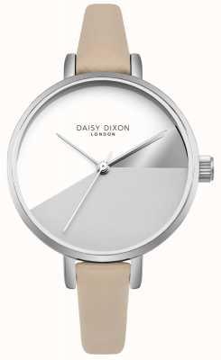 Daisy Dixon Women's Ava Grey Dial Tan Leather Strap DD064CS