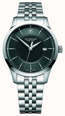 Victorinox Swiss Army Alliance Large 40mm Black Dial Stainless Steel Bracelet 241801