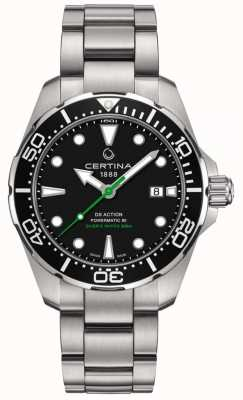 Certina Men's DS Action Diver 43mm Powermatic 80 C0324071105102