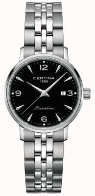 Certina Women's DS Caimano 28mm Steel Quartz C0352101105700