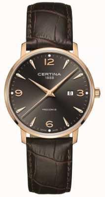 Certina Men's DS Caimano 39mm Rose Gold Quartz C0354103608700