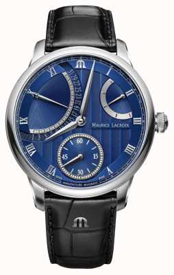 Maurice Lacroix Masterpiece Calendar Retrograde Automatic Watch MP6568-SS001-430-1