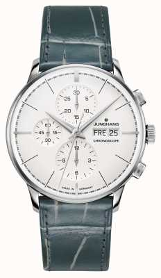 Junghans Meister Chronoscope Terrassenbau Limited Edition Stainless 027/4729.00