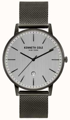 Kenneth Cole Classic Gunmetal Stainless Steel Mesh Watch KC50009003