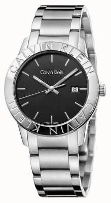 Calvin Klein Steady Stainless Steel Black Dial K7Q21141