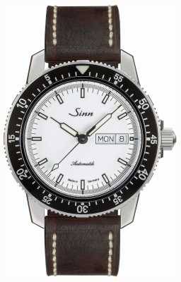 Sinn 104 St Sa I W Classic Pilot Watch Brown Vintage Leather 104.012- BL50202002007125301A