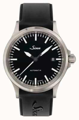 Sinn 556 I Sports Sapphire Glass Black Silicone Strap 556.010 SILICONE