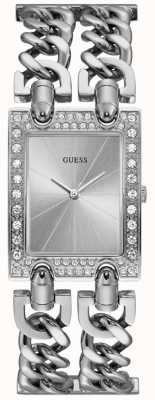 Guess Womens Mod Heavy Metal Stainless Steel W1121L1
