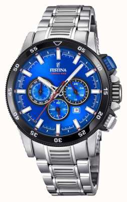 Festina 2018 Chronobike Watch Stainless Steel Bracelet F20352/2