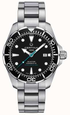 Certina Mens DS Action Divers Powermatic 80 Sea Turtle Conservancy C0324071105110