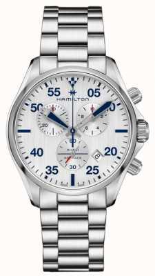 Hamilton Khaki Pilot Chronograph Quartz Stainless Steel H76712151