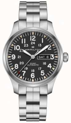 Hamilton Khaki Field Day Date Automatic Stainless Steel Bracelet H70535131