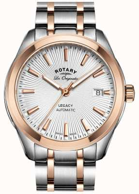 Rotary Mens Two Tone Legacy Automatic GB90167/06