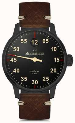 MeisterSinger Salthora Meta Automatic Black Line SAM902BL