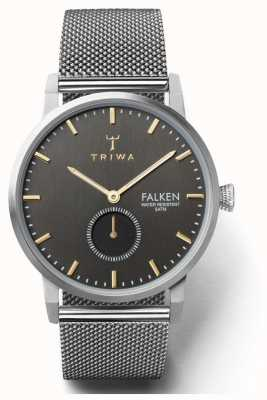 Triwa Mens Smoky Falken Steel Mesh TR.FAST119-ME021212