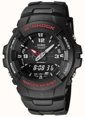 Casio Mens G-Shock Black G-100-1BVMES