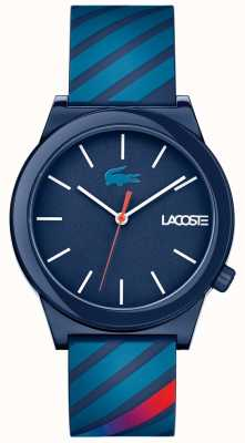 Lacoste Unisex Motion Watch Blue Rubber Strap 2010934