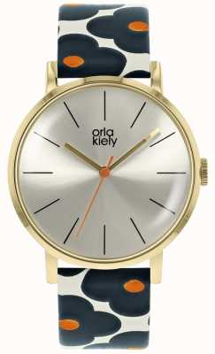 Orla Kiely | Patrticia Indigo | Gold case | OK2200