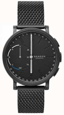 Skagen Hagen Connected Smart Watch Black Mesh Bracelet Black Dial SKT1109