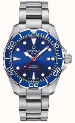 Certina Men's DS Action Diver Powermatic 80 Automatic C0324071104100