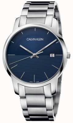 Calvin Klein City Stainless Steel Bracelet Blue Dial K2G2G14Q