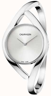 Calvin Klein Party Silver Stainless Steel Bracelet K8U2M116