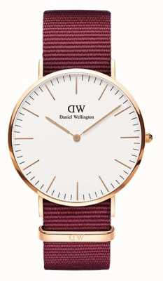 Daniel Wellington Classic Roselyn 40 White Dial Rose Gold Case DW00100267