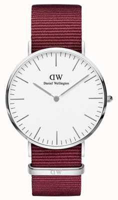 Daniel Wellington Classic Roselyn 40 Silver Case White Dial DW00100268