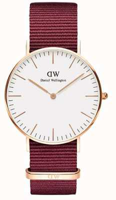 Daniel Wellington Classic 36 Roselyn Watch | Rose gold case | DW00100271