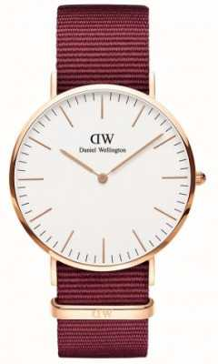 Daniel Wellington Classic Roselyn 36 Rose Gold White Dial DW00100271