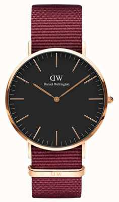 Daniel Wellington Classic Roselyn 36 Rose Gold Black Dial DW00100273